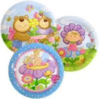 Тарелка бумажная ламинированная Детская коллекция