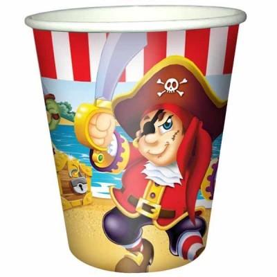 Стакан бумажный Веселый пират