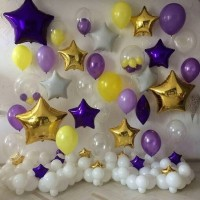Оформление фотозоны шарами №3 (цену уточняйте)