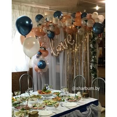 Оформление зала на свадьбу №1 (цену уточняйте)