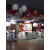 Оформление зала на свадьбу №2 (цену уточняйте)