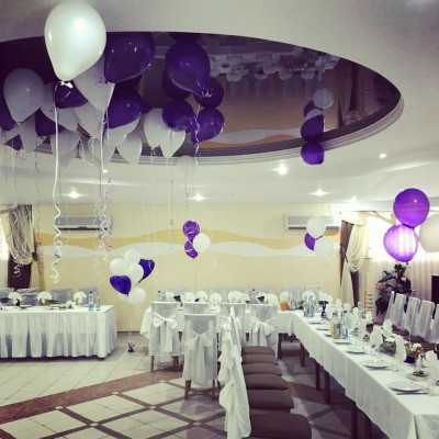Оформление зала на свадьбу №3 (цену уточняйте)