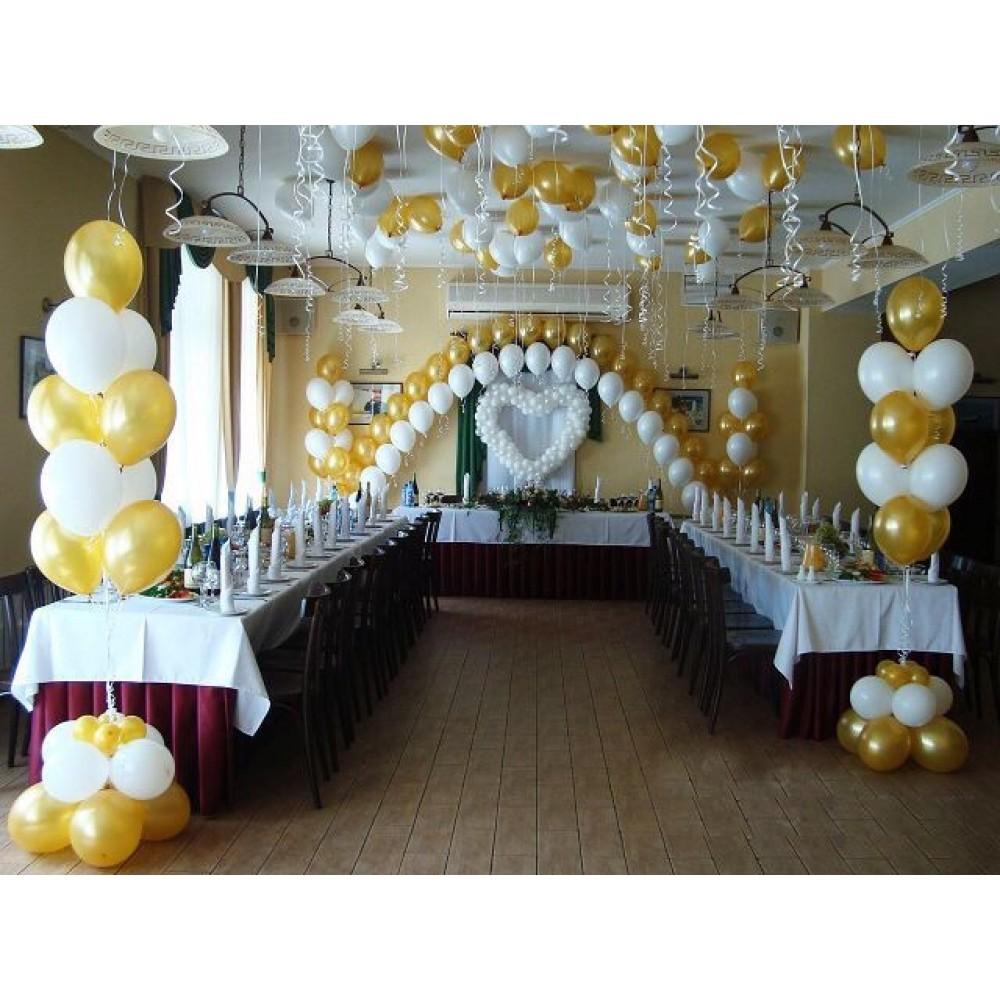 Оформление зала на свадьбу №5 (цену уточняйте)