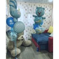Набор для оформления комнаты новорожденного №6