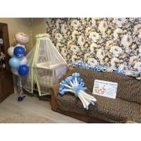 Набор для оформления комнаты новорожденного №8